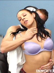 Uniformed Teen Sexy Teen Chick Alexa Jordan Pounded Hard By Her Teacher