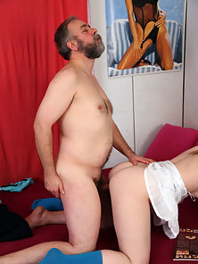After Getting Bore in Study Dashing Babe Makes Lot of Sex Fun with Step Dad