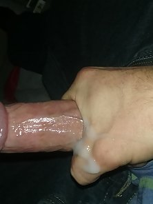 Hunky Man Enjoy Cock Jerking Till Getting Cumshot