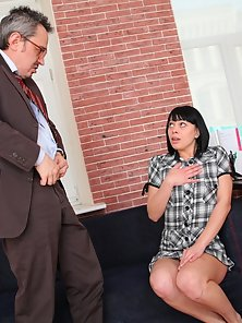 Sonia and Her Old Naughty Teacher Are Enjoying the Pleasure of Sex