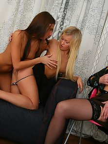 Cutest Alina with Vanda Gets Hornier In Lesbian Class by Teacher