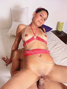 Skinny Hot Spanish Chick Gets Her Small Clit Drilled Roughly