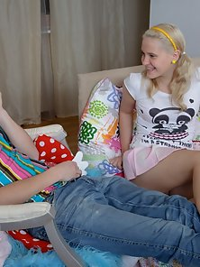 Cute Teen Blonde Moans while Enjoying Riding Action Her Boyfriend Naughty Cock