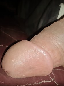 Pink head of my huge monster cock need pink pussy