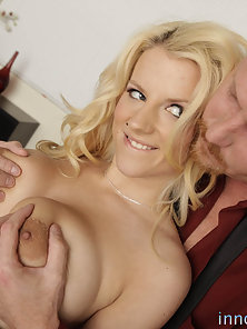 Massive Titted Blonde Cheerleader Deeply Fucked By Her Principal