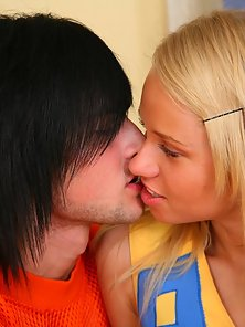 Beautiful Sexy Cheerleader Ania Gets Licked and Hard Asshole Fucked