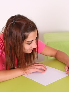 Ulia Is Committed For Doing Hardcore Sex with Her Teacher for Better Grade