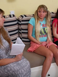 Hot Coped Maria in Lesbian Sex with Teacher and Friend