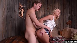 Blonde Cooter Ivana Sugar Having Oral and Pounding in Moist Twat