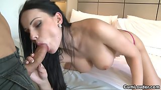 Long Haired Naughty Teen Babe Gets Her Tight Ass Hammered