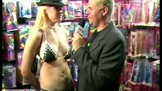 Heidi Mayne Give Interview in Naughty Dresses with Sexy Action