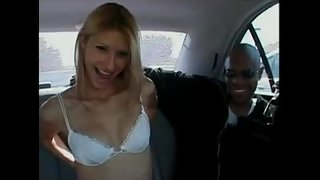Horny Babe Crystal Ray Sucked and Fucked Hard In the Car