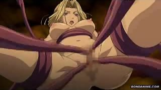 Big Tits Anime Babe Banged Hard By Tentacles