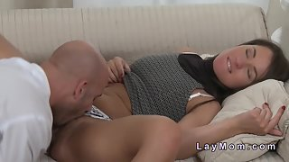Brunette Babe Fuck by Her Ex-Bf While Her Husband Not In Home