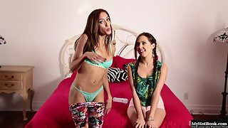 Jenna Sativa and Chloe Amour Have Dreams to Engage in Sixty Nine