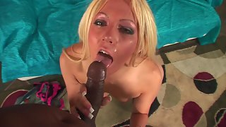 Hottest Blonde Nympho Caressing Her Dripping Pink Snatch