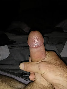 Bored and horny make for fun - jerking cock