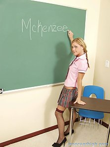 Naughty Blonde Nympho Seduces Her Professor and Fucked Doggy Style