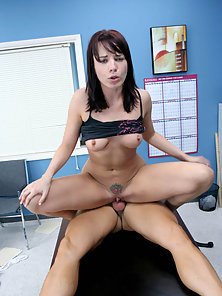 Stunning Babe Enjoys Sucking and Nailing In Class Room