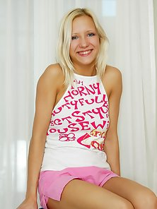 Sweet and Cute Teen Gives Some Sexy Poses Inside Room