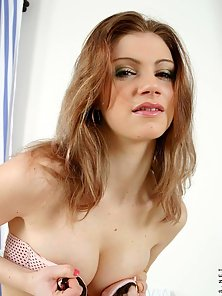 Petite Babe Ally Enjoying Hot Action by Stripping Her Dresses Cleverly