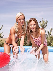 Naughty Lesbos Licking and Toying In 69 Pose