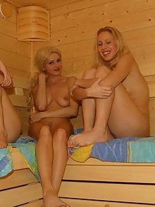 Hot blonde babes nude sex