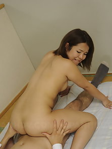 Seductive asian babe fucked hard in the prison