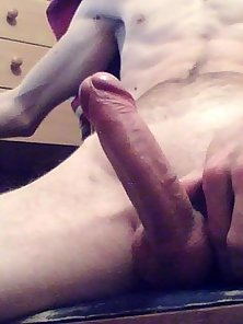 My gift is my big white cock