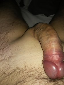 Homemade Australia - amateur guy showing an erect cock