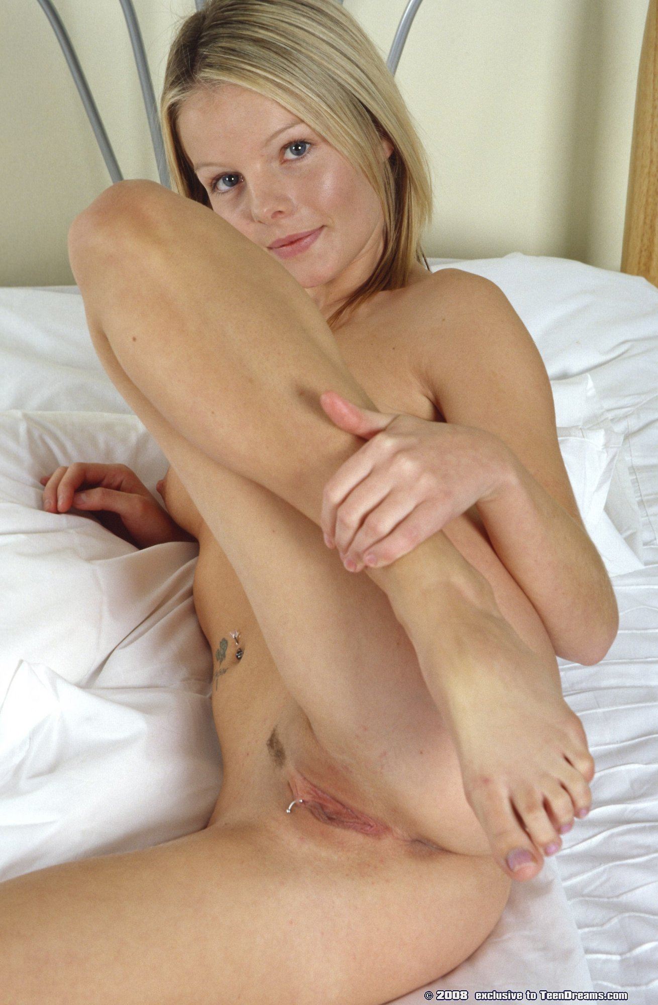 Pierced hot pussy all