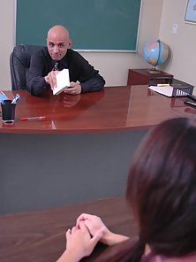 Teachers Request Could Not Be Avoided By the Hot Girl for Huge Sex