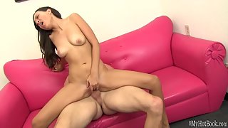 Pink Pussy of Skinny Mia Grand Hard Pounded After Deepthroat