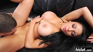 Big Tits Audrey Bitoni Getting her Sweet Cunt Drilled Hard