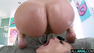 Cock eager sluts Dana Dearmond and Gia Derza shares on huge cock