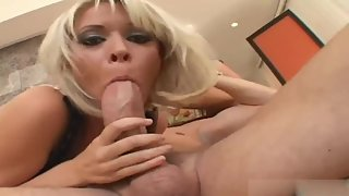 Pretty chicks get fucked by horny stud