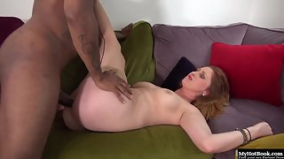 Hot petite brunette gets rammed hard by a bbc