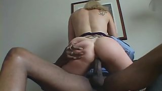 Impressive Blonde Beauty Gets her Wet Pussy Banged by BBC