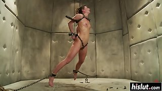 Teenager Ariel X Got Tied Up and Drilled With Sex Toys