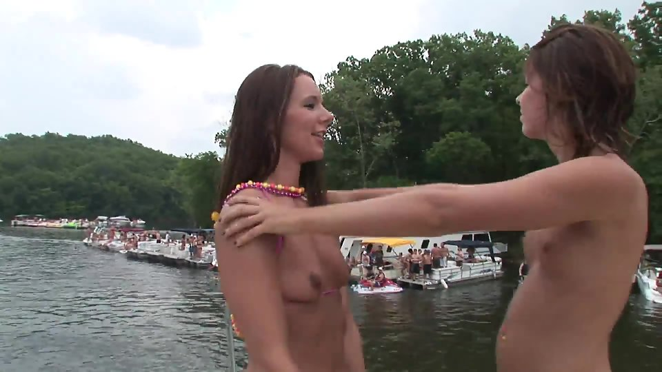 Hot Blonde Fucked Party