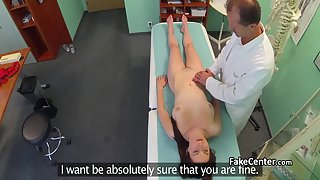 Hospital Examination with extra pussy pleasure