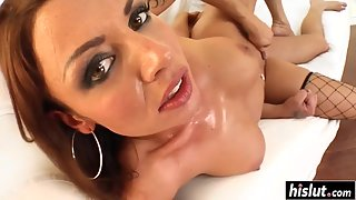 Brunette Chili with Round Ass Gets Fucked from Behind